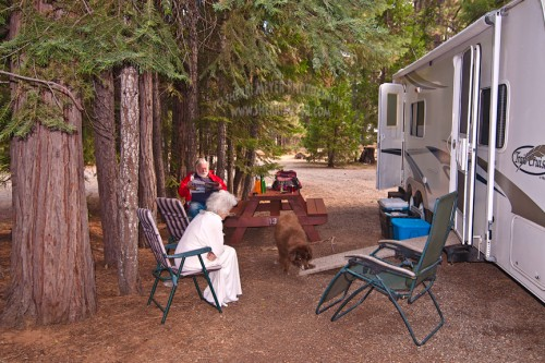 RVing, Northern California, Lake Almanor, Canyon Dam, Plumas County, Sherri Meyer Photography
