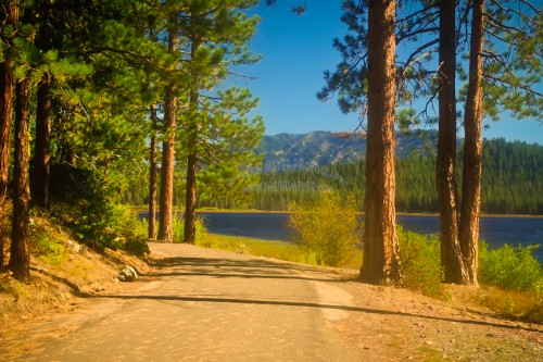 Round Valley Reservoir, Plumas National Forest, Northern California, Sherri Meyer Photography