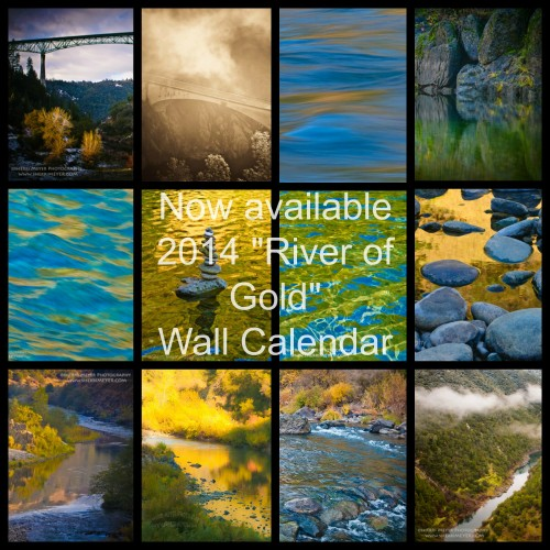 American River Calendar, California, Sherri Meyer Photography, Christmas Gift, Birthday Gift